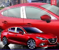 Nẹp viền mạ INOX Mazda Axela ( Order )
