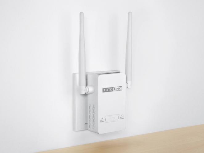 Totolink mở rộng sóng Wi-Fi chuẩn N 300Mbps