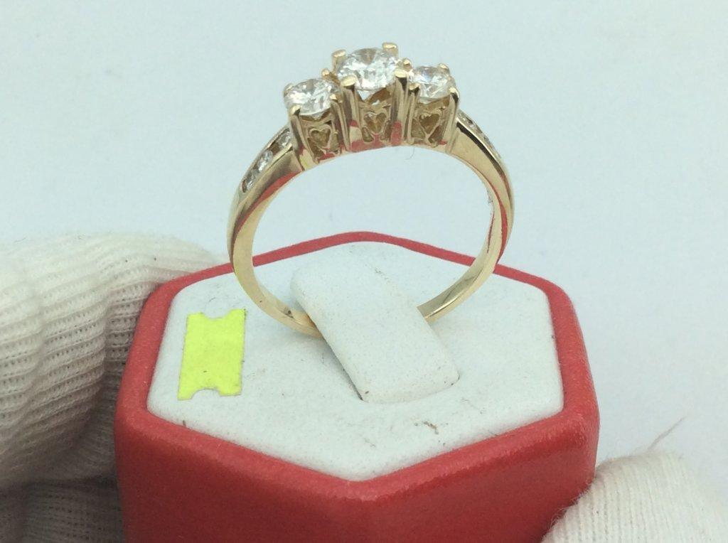 Nhẫn vàng  14k ổ ngoại  kiểm định H19793