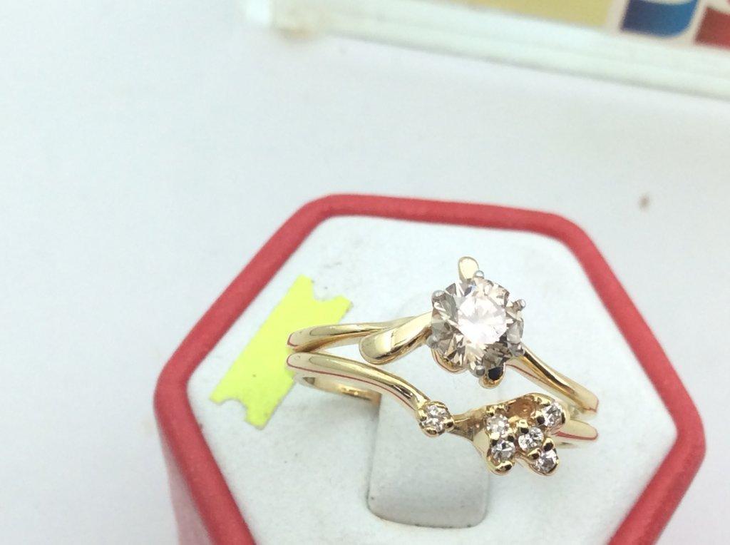 Nhẫn Nữ 14k 5ly14 Diamondổ ngoại  H10124