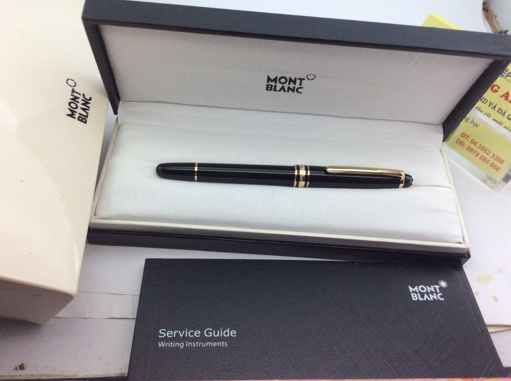 Bút Montblanc Meisterstuck 144 bi nước - cài bút mạ vàng mới nguyên 100% , hàng chính hãng