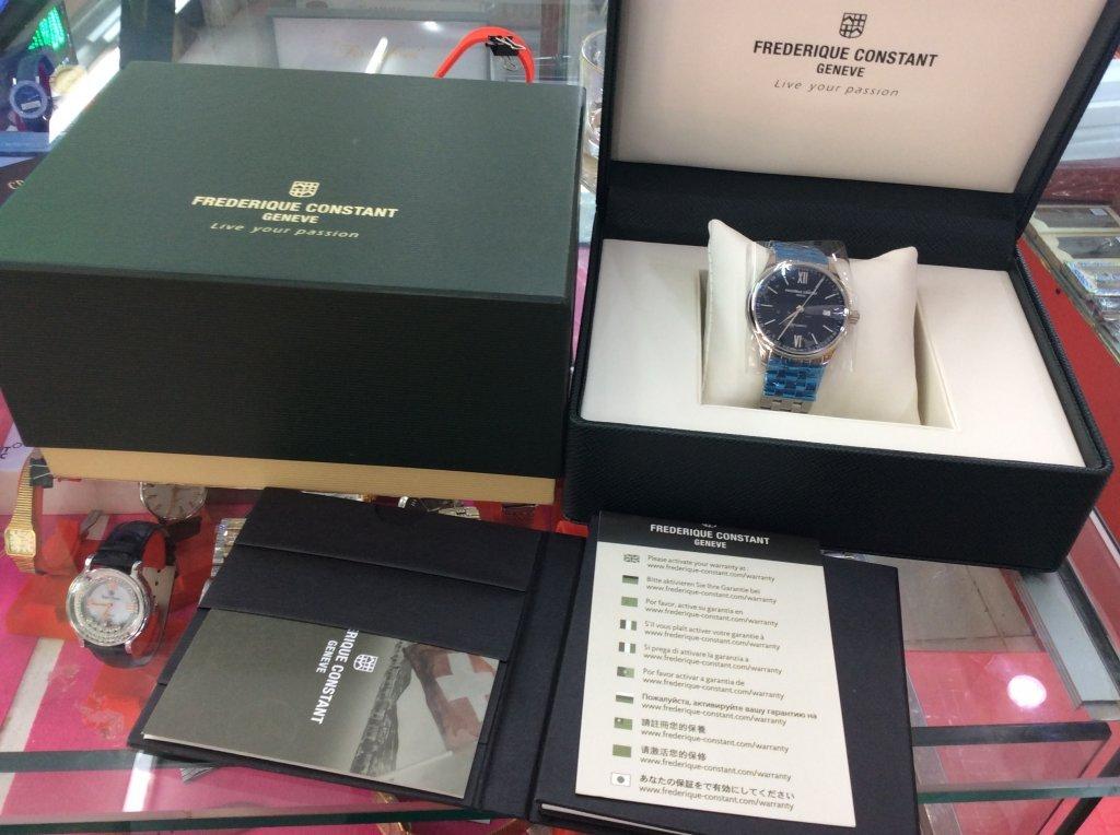 Đồng hồ Frederique Constant Geneve Automatic hàng chính hãng nguyên zin 100%