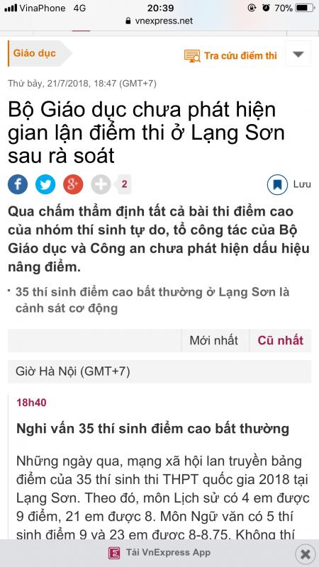 Vỡ alo 1 số bác ở đây cá độ với em kết quả ở Lạng Sơn