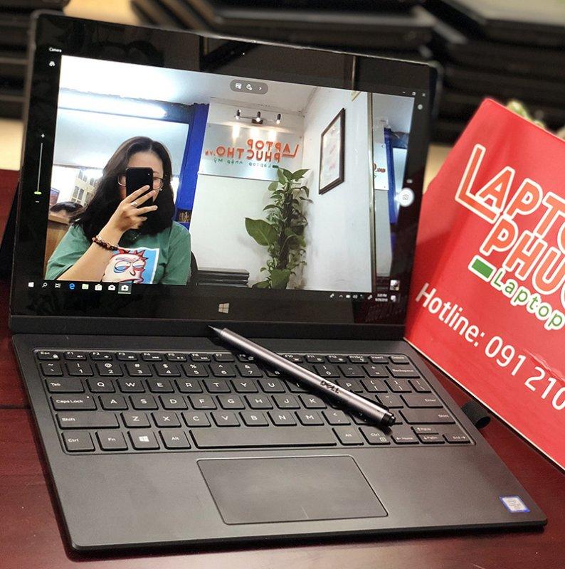 Laptop cảm ứng 2 trong 1 Dell 7275, Core M7 - 8GB RAM - 256GB SSD - 12.5  Full HD