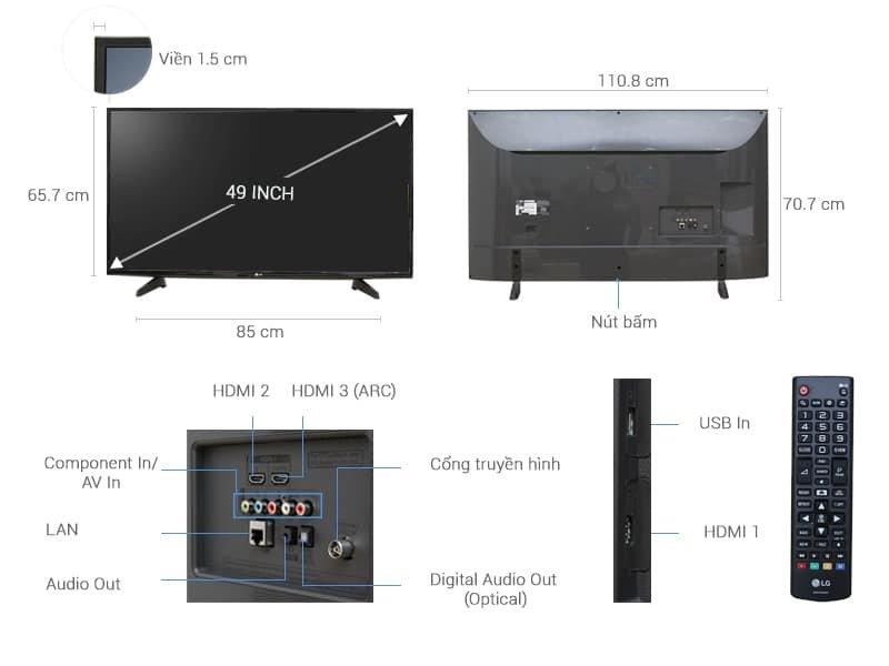 Thanh lý 4 máy ps4   4 tivi LG 4k Smart Tivi 49 Inch