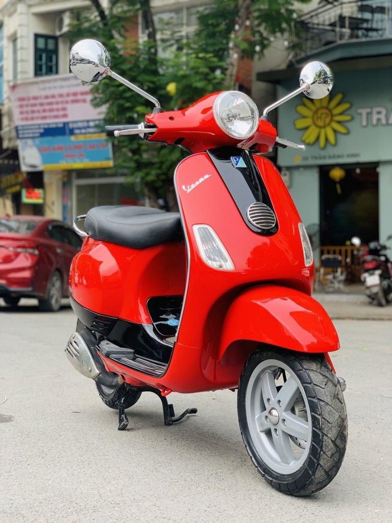 Vespa Lx 125 vn mầu đỏ 2011 giá 17.5 triệu  - 5725  (4).jpg